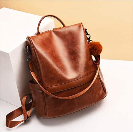 mochila café, cinco mochilas que te encantarán