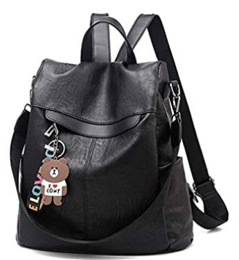 mochila negra - cinco mochilas que te encantaran