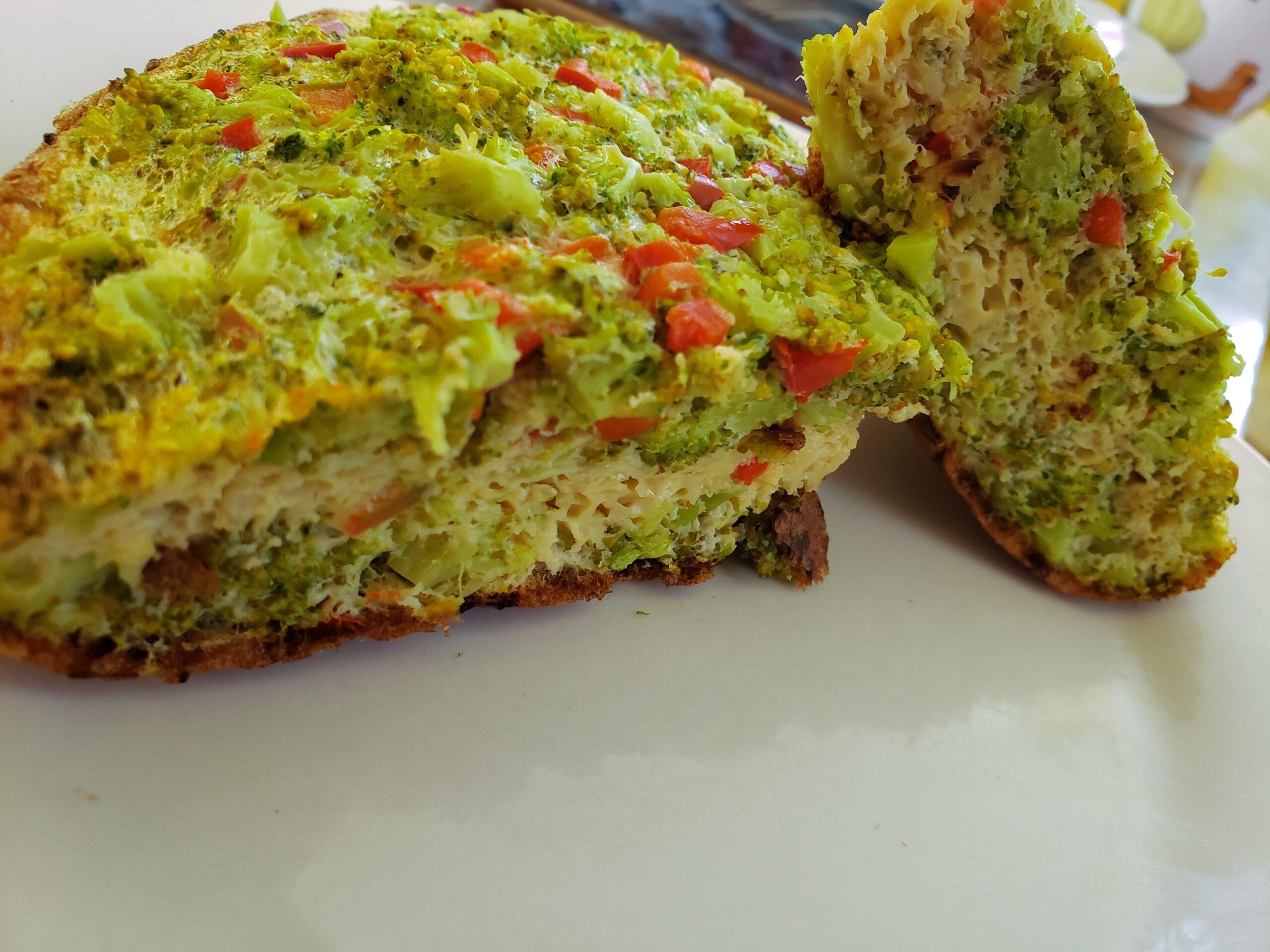 Receta del soufflé de brócoli de dkarolina.com